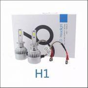Kit Lâmpadas Farol H1 Super Led C6 Cob 7200lumens 6000k