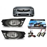 Kit New Civic Par Farol Milha E Kit Xenon 2009 2010 2011