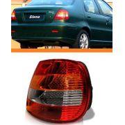 Lanterna Fiat Siena 01 02 03 Carcaça Preta Direita