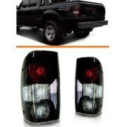 Lanterna Ford Ranger Fumê 2005 2006 2007 2008 Par