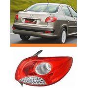 Lanterna Peugeot 207 Sedan 08 09 10 11  12 Orig Direita
