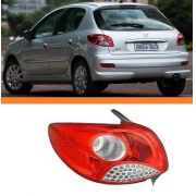 Lanterna Peugeot Hatch 207 08 09 10 11  12 Orig Esquerda