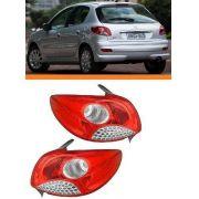 Lanterna Peugeot Hatch 207 08 09 10 11  12 Orig Par