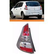 Lanterna Renault Sandero Cinza 2012 2013 2014 Esquerdo