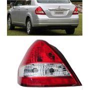 Lanterna Tiida Sedan Nissan 2010 2011 2012 2013 14 Esquerdo