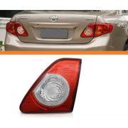 Lanterna Traseira Corolla 08 09 10 11 Tampa Bicolor Direita
