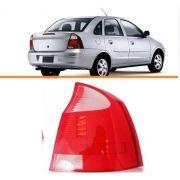 Lanterna Traseira Corsa Sedan  2003/2012  Branca Ld