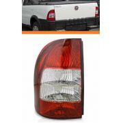 Lanterna Traseira Fiat Strada 2005 06 07 08 Bicolor Esquerdo