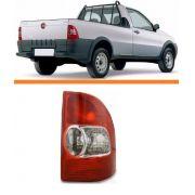 Lanterna Traseira Fiat Strada 99 2000 01 2002 2003 Direito