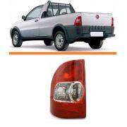 Lanterna Traseira Fiat Strada 99 2000 01 2002 2003 Esquerda