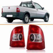 Lanterna Traseira Fiat Strada 99 2000 01 2002 2003 Par