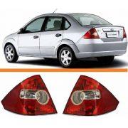 Lanterna Traseira Fiesta Sedan 03 04 05 06 07 2008 Par