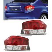 Lanterna Traseira Honda City 08 09 10 2011 2012 Par