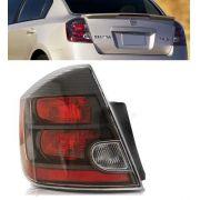 Lanterna Traseira Nissan Sentra Fumê  2012 2013 Esquerdo