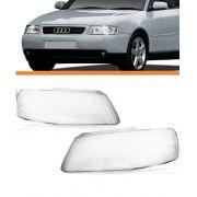 Lente Do Farol Audi A3 2001 2002 2003 2004 2005 2006 Par