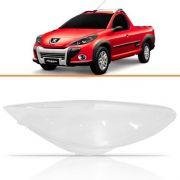 Lente Farol Peugeot Hoggar 2009 10 11 12 13 2014 Direito