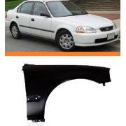 Paralama Honda Civic 96 97 98 Lado Direito Novo