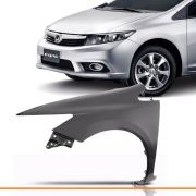 Paralama New Civic 2012 2013 2014 2015 S/furo Esquerdo