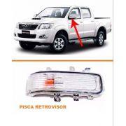 Pisca Retrovisor Hilux 2012 2013  14 15 Le