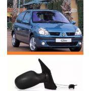 Retrovisor Clio 99 00 01 02 03 04 05 06  2012 Direito Manual