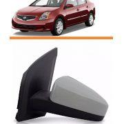 Retrovisor Nissan Sentra 2007 2008 09 10 11 Manual Esquerdo