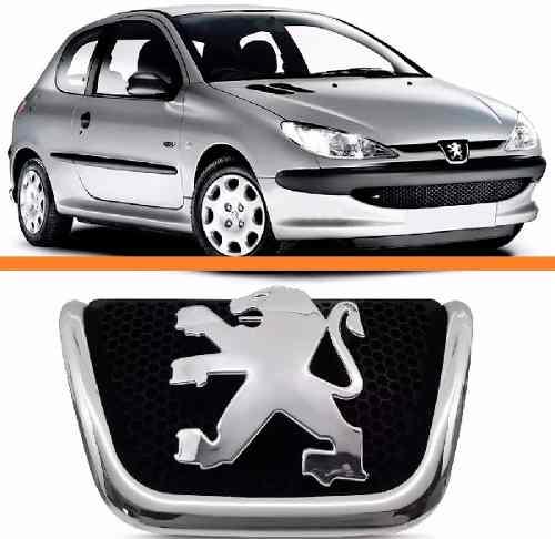 Emblema Grade Dianteira Peugeot 1998 A  2008  - Kaçula Auto Peças