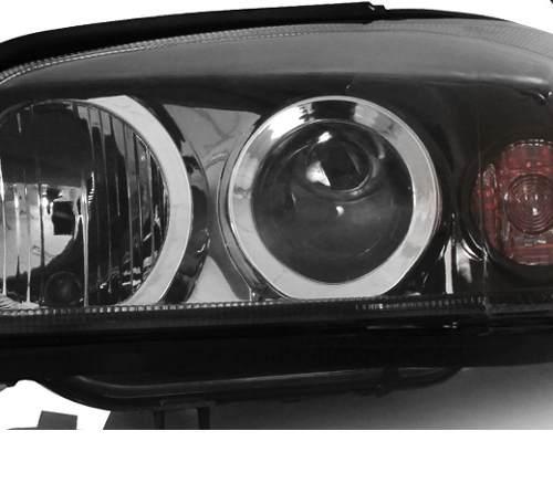 Farol Astra 2003 04 05 06 07 08 09 10 Mascara Negra Esquerdo  - Kaçula Auto Peças