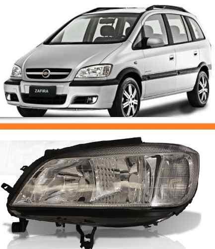 Farol Chevrolet Zafira 2001 Até 2012 Lado Esquerdo  - Kaçula Auto Peças