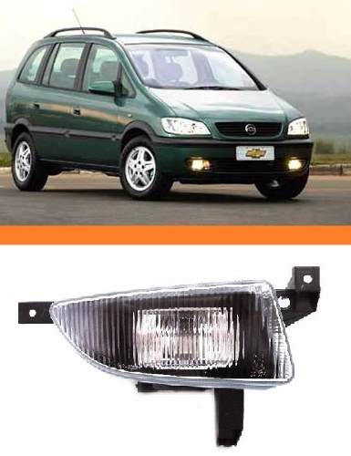Farol De Milha Zafira 2000 01 02  2003 Novo Lado Direito  - Kaçula Auto Peças