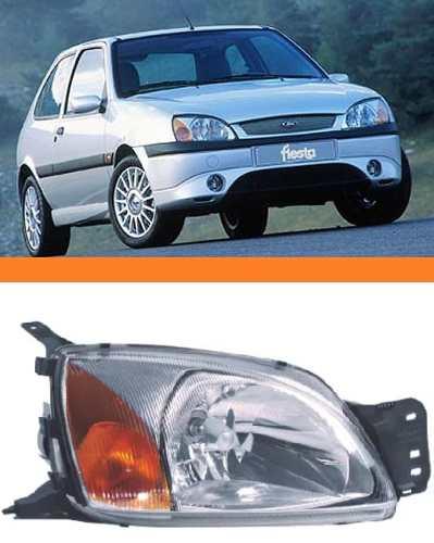 Farol Fiesta Courrier 2000 2001 2002 Pisca Ambar Direito   - Kaçula Auto Peças