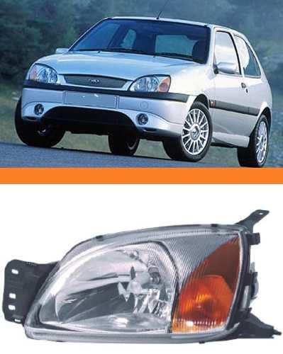 Farol Fiesta Courrier 2000 2001 2002 Pisca Ambar Esquerdo  - Kaçula Auto Peças
