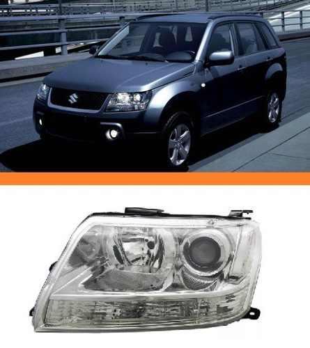 Farol Gran Vitara 2008 2009 2010 2011  Esquerdo  - Kaçula Auto Peças