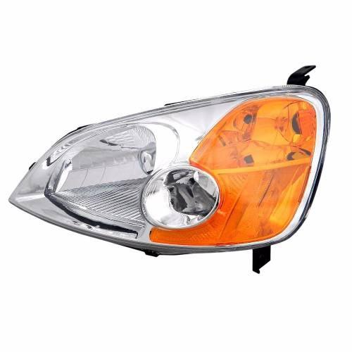 Farol Honda Civic 01 02 03 Foco Simples Pisca Ambar Direito  - Kaçula Auto Peças