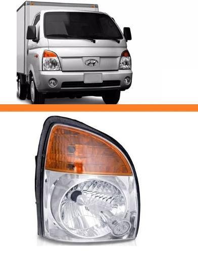 Farol Hr Hyundai Ano 2007 2008 2009 2010 2011 Direito  - Kaçula Auto Peças