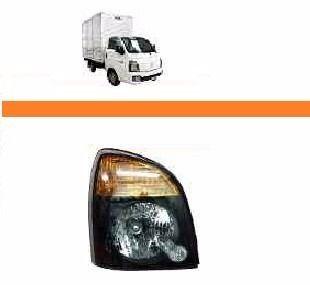 Farol Hyundai Hr 2013 2014 2015 2016 17 Mascara Negra Direit  - Kaçula Auto Peças