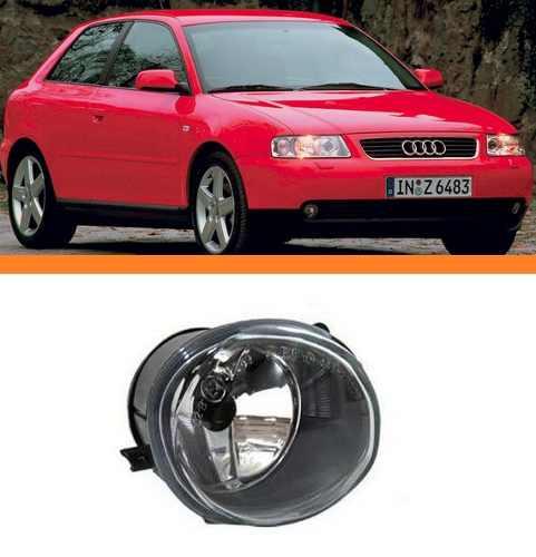 Farol Milha Audi A3 2001 2002 2003 2004 2005 Direito  - Kaçula Auto Peças