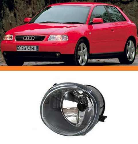 Farol Milha Audi A3 2001 2002 2003 2004 2005 Esquerdo  - Kaçula Auto Peças