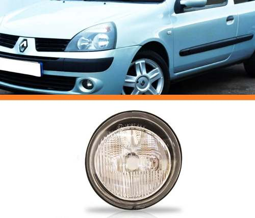 Farol Milha Clio Kangoo Twingo 99 2000 2001 2002 Esquerdo  - Kaçula Auto Peças