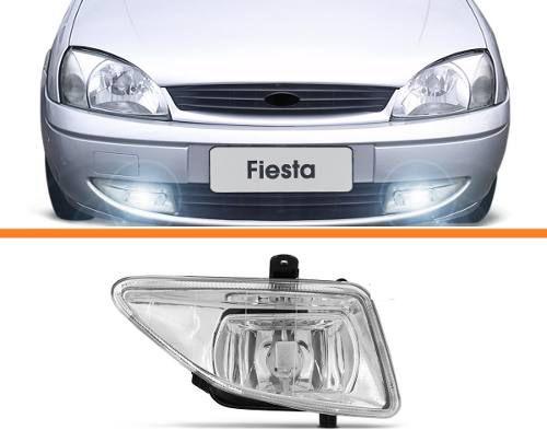Farol Milha Fiesta 00 2001 2002 Courier 03 04 05 07 Direito  - Kaçula Auto Peças