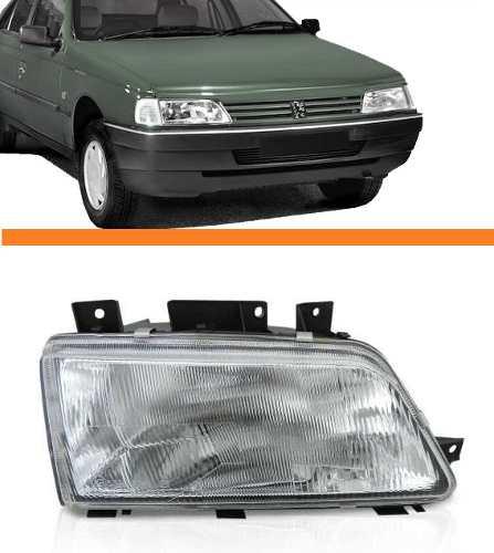 Farol Peugeot 405  94 95 96 97 Simples Lado Direito  - Kaçula Auto Peças
