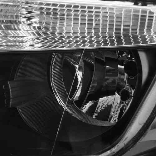 Farol Renault  Duster 2012 2013 Mascara Negra Esquerdo  Novo  - Kaçula Auto Peças