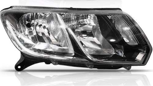 Farol Renault Logan Lado Direito Ano 2014 2015 2016  - Kaçula Auto Peças