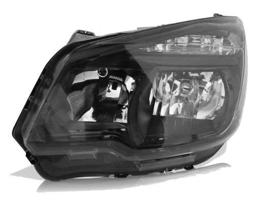 Farol S10 2012 2013 2014 2015 Mascara Negra Esquerdo  - Kaçula Auto Peças