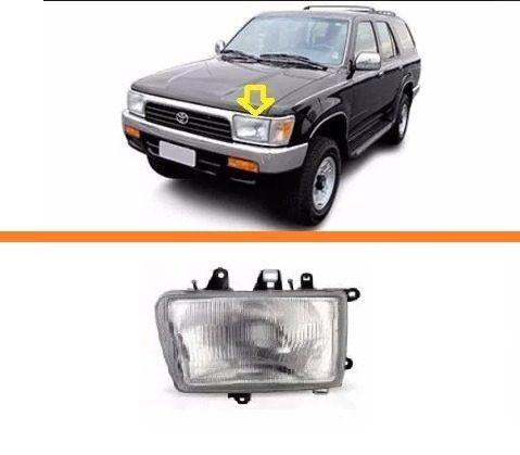 Farol Toyota Hilux Sw4  92 93 94 95 96  97 99 98  01 02 Le  - Kaçula Auto Peças