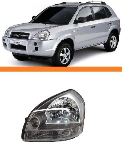 Farol Tucson 2005 Até 2014 Pisca Cristal Esquerdo  - Kaçula Auto Peças