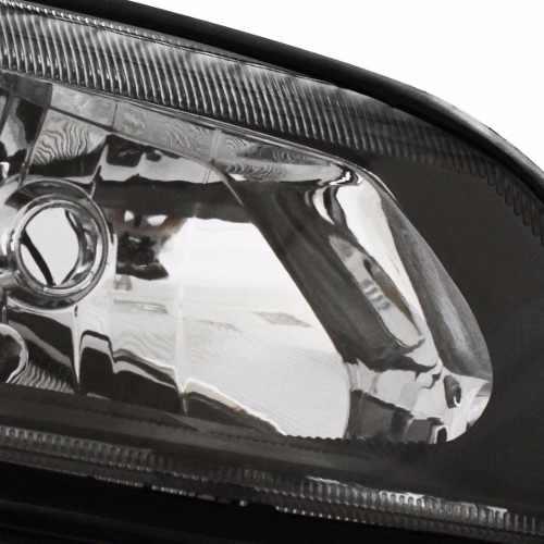 Farol Vectra Mascara Negra Fumê 2000 01 02 03 04 05 Esquerdo  - Kaçula Auto Peças