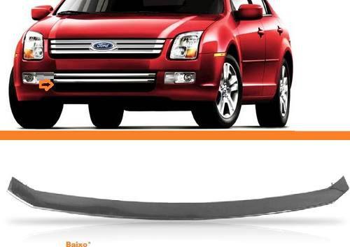 Friso Inferior Cromado Parachoque Ford Fusion 2007 2008 2009  - Kaçula Auto Peças