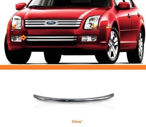 Friso Superior Cromado Parachoque Ford Fusion 2007 2008 2009  - Kaçula Auto Peças
