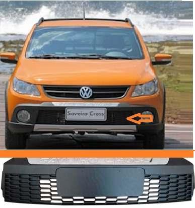 Grade Central Do Parachoque Saveiro Cross G5  - Kaçula Auto Peças