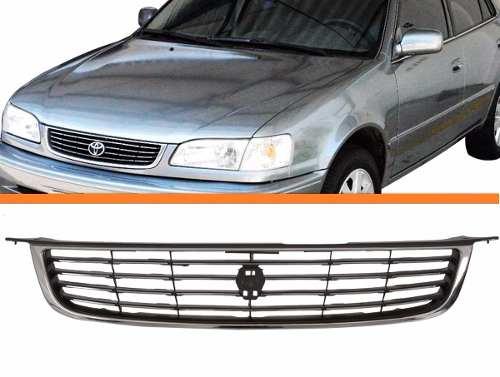 Grade Corolla 98 2002 Novo Com Moldura Cromada  - Kaçula Auto Peças